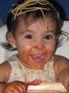 baby spagetti blog