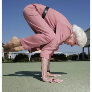 grandmother yogi